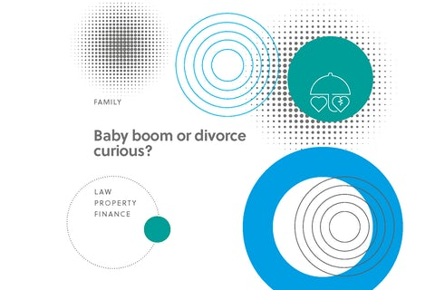 Baby boom or divorce curious?