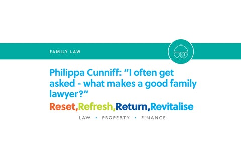 Blog – I often get asked what makes a good family lawyer