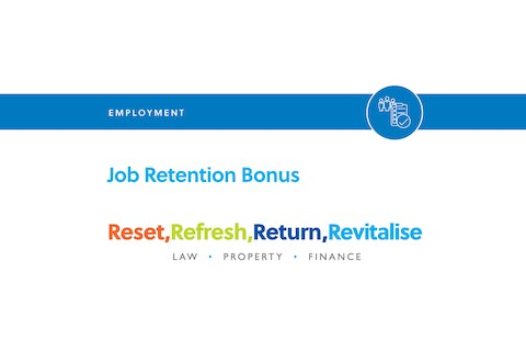 Blog – Job Retention Bonus