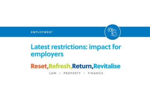 Blog – Latest restrictions – impact