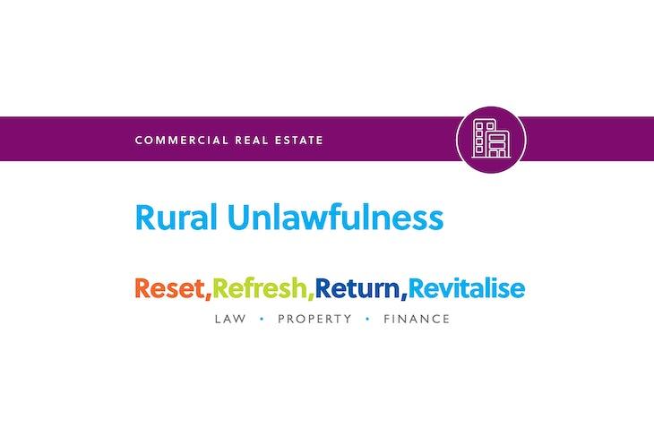 Blog – Rural Unlawfulness