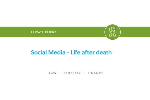 Blog – Social media life after death 1