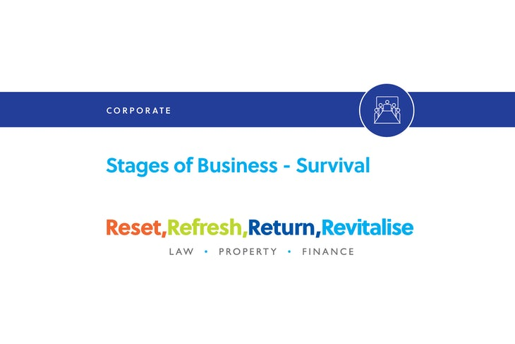 Blog – Stages of business – survival