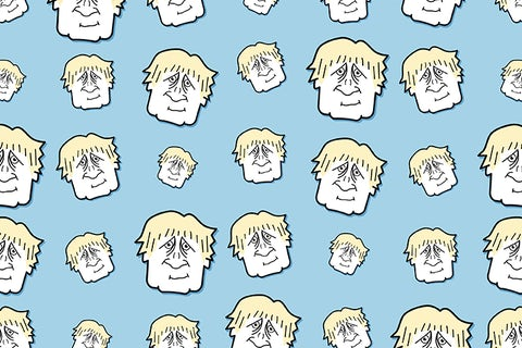 Boris Johnson Seamless Background
