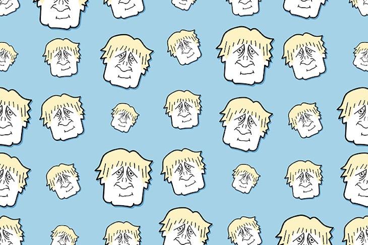 Boris Johnson Seamless Background