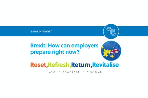 Brexit – Prepare Now