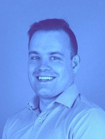 Chris Wilson studio 2 light blue
