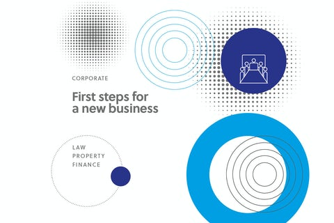 First steps for a new business