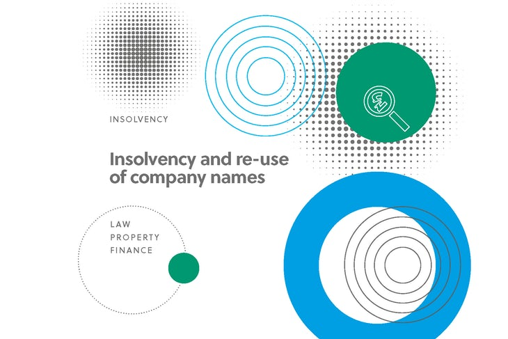 Insolvency and the re-use of company names