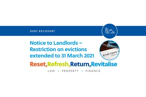 Notice to Landlords – Restrictions