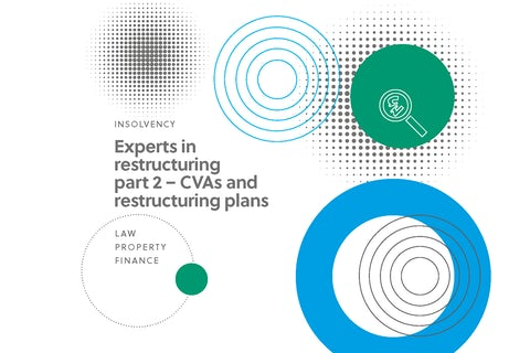 CVAs and restructuring plans