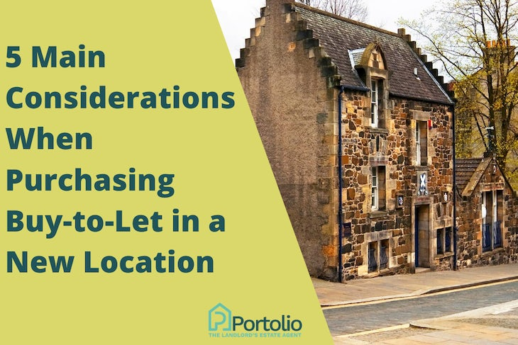 Purchasing buy-to-let in a new area