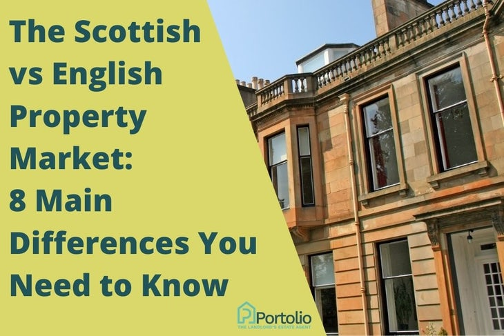 Scottish vs english property market