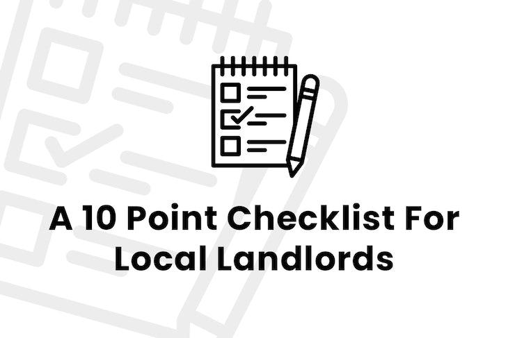 2109 – 10 Point Checklist Landlords