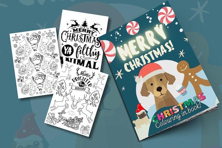Christmas Books-2 kids promo